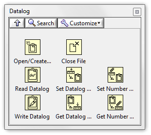 The Datalog Palette