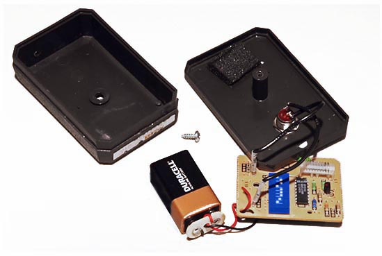 A very simple garage door opener
