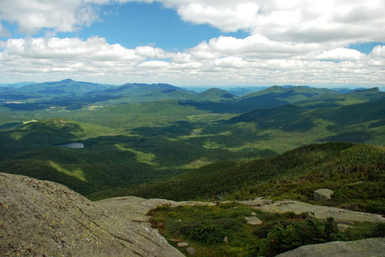 Eastern View from Wright Peak
