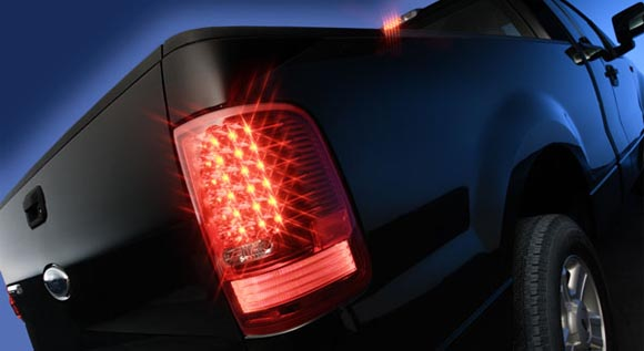 Ford LED Tail Light Upgrade - Ain't that a Fancy Photo?
