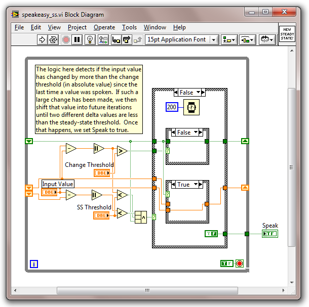 labview non lexical vocablesdetecting new steady state voltages