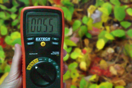 Telluric Current - Well, it is measurable...